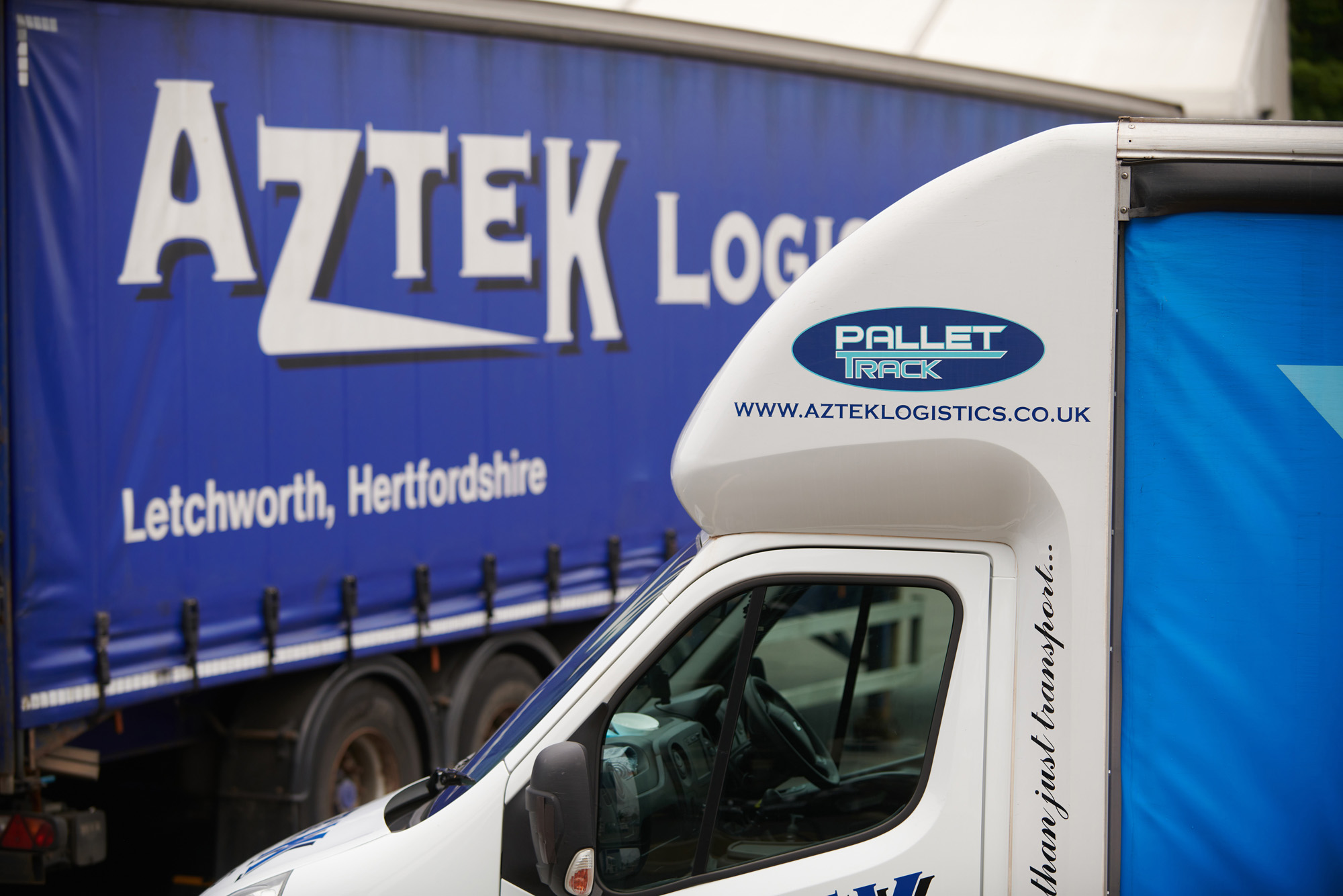 Aztek Logistics and Pallet-Track